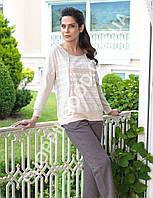 Женская пижама Mel Bee (Sahinler) MBP 23016, костюм домашний с брюками