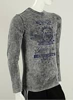 Джемпер с рисунком на груди