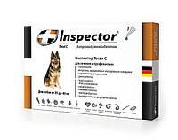 Капли Inspector (Инспектор) для собак 25-40 кг, от внешних и внутренних паразитов, 1 пипетка