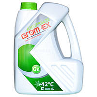 Антифриз Grom Ex -42°С G11 зеленый 5 кг