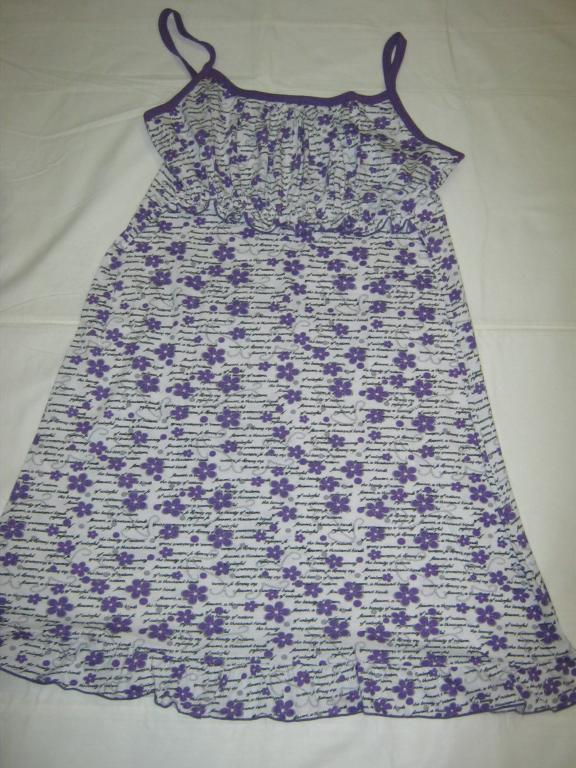 Ночная сорочка для кормящей мамы р.54