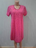 Удобная ночная рубашка для кормящей мамы р. 52