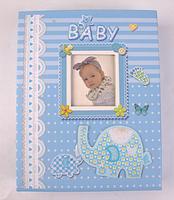 Фотоальбом для мальчика - альбом для новорожденных