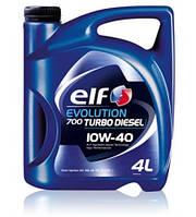 Моторное масло ELF 10W40 TURBO DIESEL EVOLUTION 700 (API CF/SL , ACEA B3/B4) 4L полусинтетика для дизеля