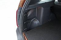 Накладки на боковые стойки багажника Renault Duster 2010-2014 г.в. Рено Дастер