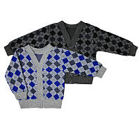 Детский кардиган свитер для мальчика 128-140 см