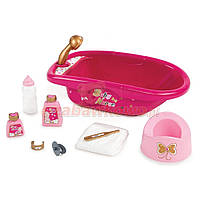 Детская ванна для куклы с аксессуарами smoby 220302
