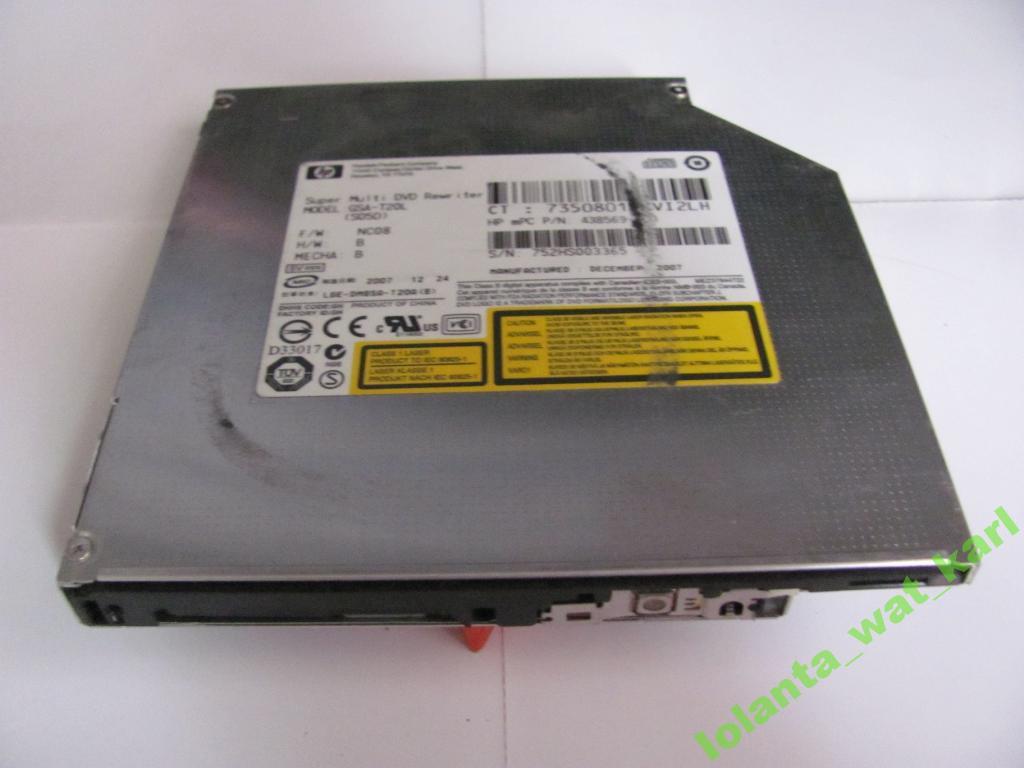 Привод для ноутбука DVD-RW IDE GSA-T20L