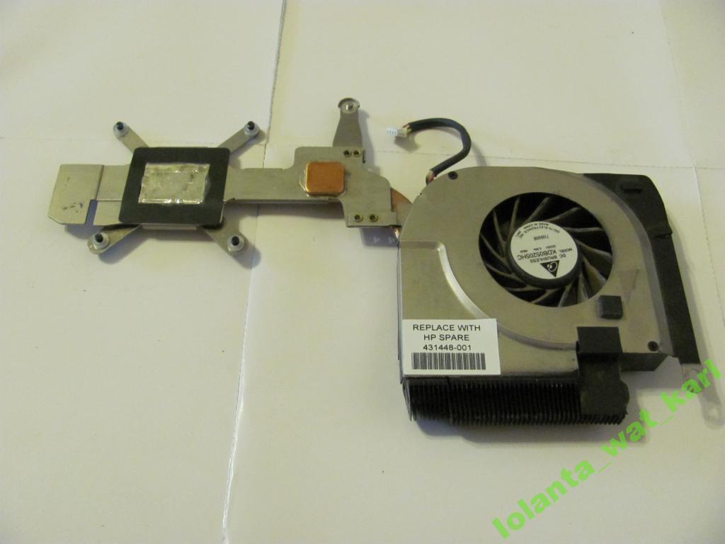 Система охлаждения ноутбука HP Pavilion DV6000
