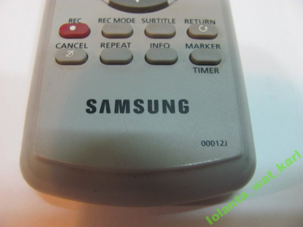 Пульт Д/У Samsung 00012j, оригинал