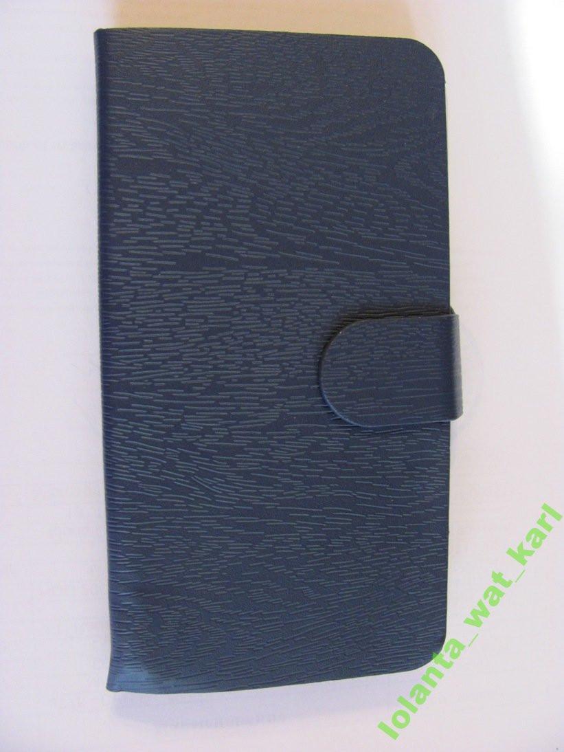 Флип Чехол Для Lenovo Vibe K5 темно-синий.