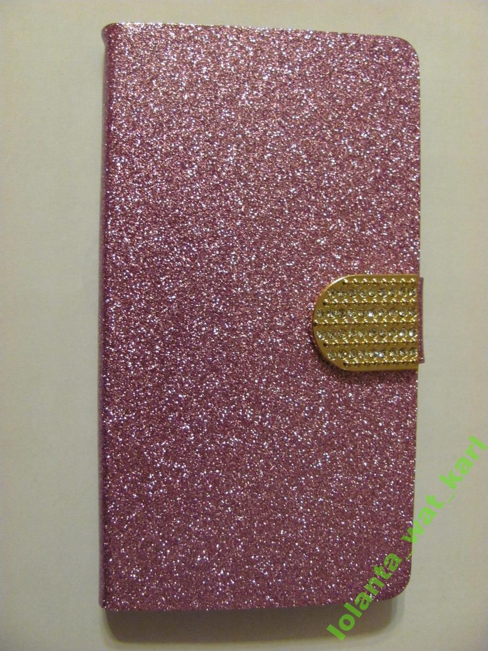 Фиолетовый Винтажный бумажник-чехол для lenovo k3