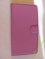 Бумажник-чехол-книга сиреневый для Lenovo  K3 Note
