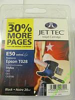 Картридж JetTec Т028 Black для принтера Epson