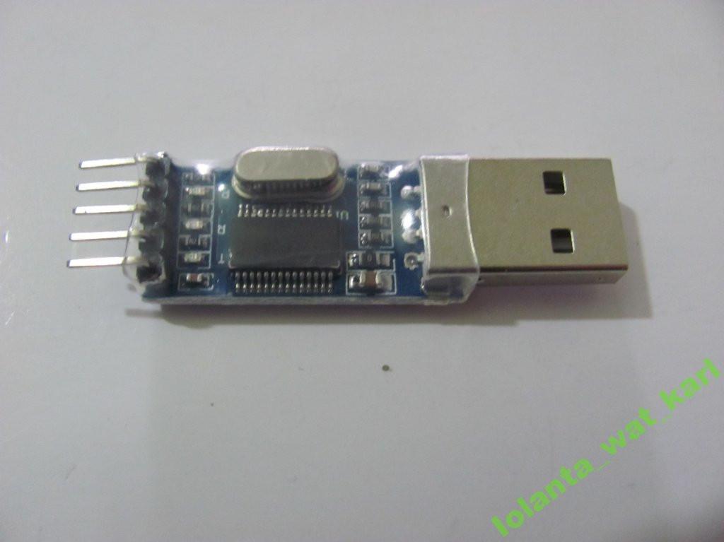 USB адаптер-конвертер-модуль USB-TTL to  RS232 TTL