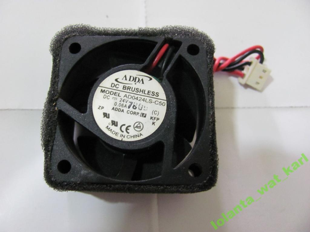 Вентилятор 42 мм, 24 вольта высокий