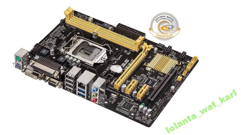 Мат. плата Asus H81M-C Socket 1150