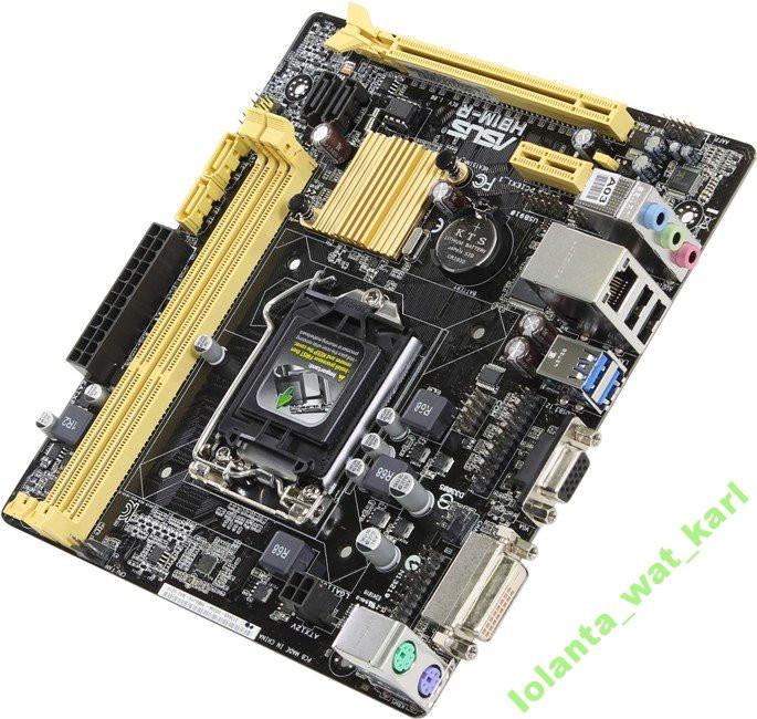 Мат. плата Asus H81M-R/C/SI Socket 1150