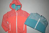 Ветровка на флисовой подкладке для девочек Glo-story 98-104-110-116-122-128рр
