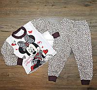 "Детская пижама Минни Маус"", на байке , рост от 80 до 122 см"