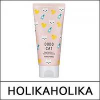 Пенка, скраб, маска три-в-одном Dust Out DODO CAT 3in1 Trans Foam Cleanser от Holika Holika