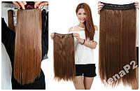 Волосы ТЕРМО на заколках тресс прядь 60см #12