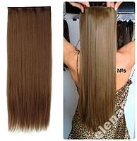 Волосы ТЕРМО на заколках тресс прядь 60см #6