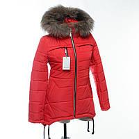 Зимняя куртка пальто Ирен подросток