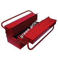 Ящик для инструмента металлический 7 секций