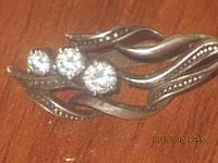 Серебряные украшения: серьги, цепочка, кольцо