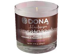 Вкусная массажная свеча Dona