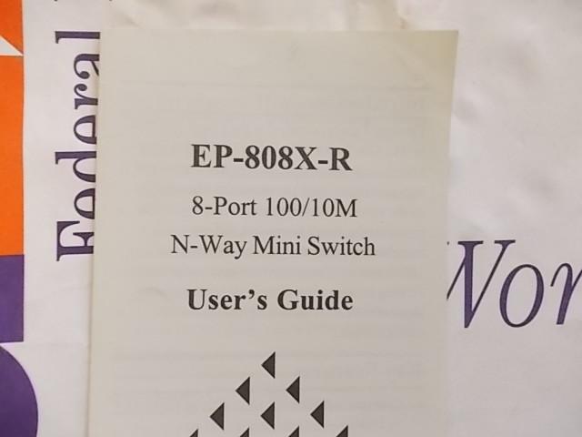 Инструкция свич Surecom EP-808X-R Mini Switch