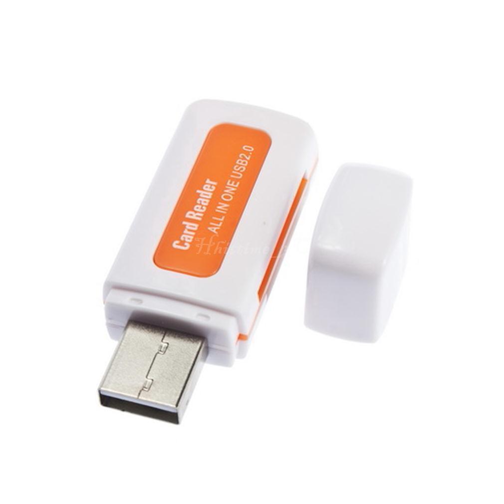 Кардридер Cardreader 4 в 1 USB в виде флешки, №181