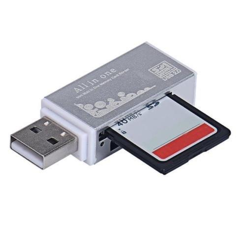 Кардридер Cardreader 4 в 1 USB в виде флешки, №185
