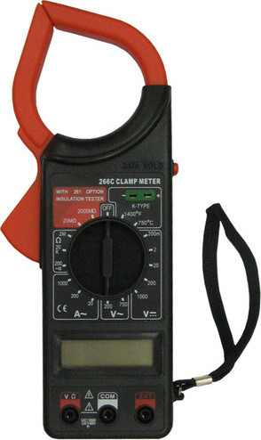 Тестер мультиметр клещи DT266C, A218