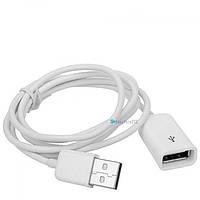 Кабель удлинитель USB 2.0 1 метр, №166