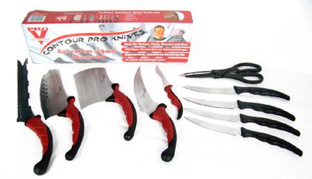 Набор кухонных ножей Contour Pro +магн рейка, A142