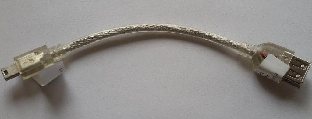 Переходник кабель OTG micro USB , №167 2шт