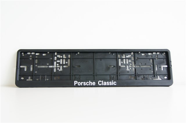 рамка номерного знака porsche