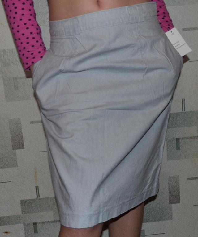 Котоновая юбка - карандаш, размер  S.