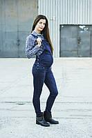 Стильный джинсовый комбинезон для беременных (пр-во Турция)