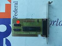 Контроллер ISA LPT printer GW302A порт принтера