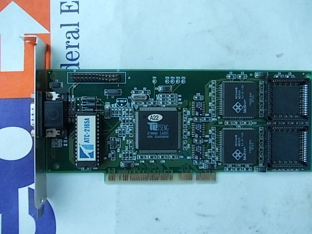 Видеокарта PCI Tseng Lab ET6000 2mb 04875