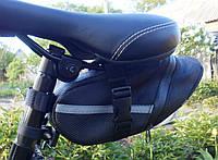 Велосипедная сумка под седло Велосумка черная