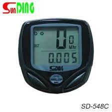 Велокомпьютер беспроводной SunDing SD-548C