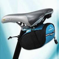 Сумка под сиденье Велосумка  ROSWHEEL синяя