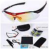 Спортивные солнцезащитные очки со сменными линзами