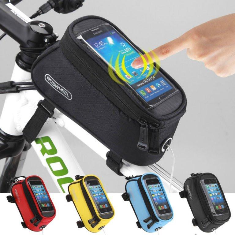 Велосумка на раму под смартфон 4.2 - 4.8  ROSWHEEL