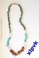 Ожерелье из Натуральных камней-№ 1.ИНДИЯ