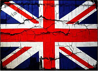 Обложка обкладинка на паспорт Британия флаг